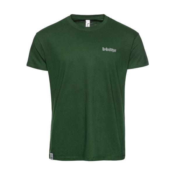 Ur-Krostitzer T-Shirt Stick grün